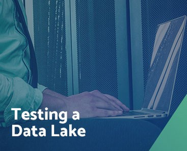 Testing a data lake